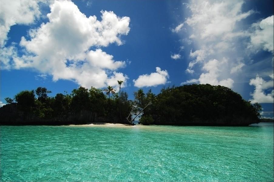 从而进入太平洋岛屿