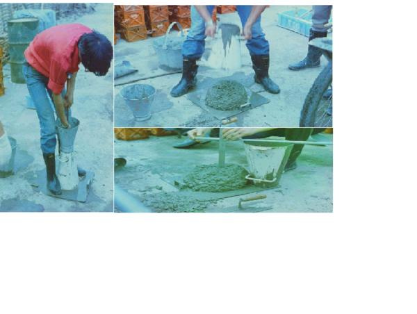 新拌混凝土的坍落度与坍蒋度损失是何含义?写
