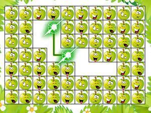 苹果女生连连看关卡全开版,动漫表情连连看关表情包头像苹果表情图片