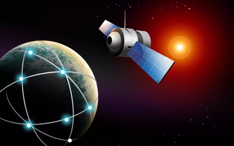 卫星f站矢量图