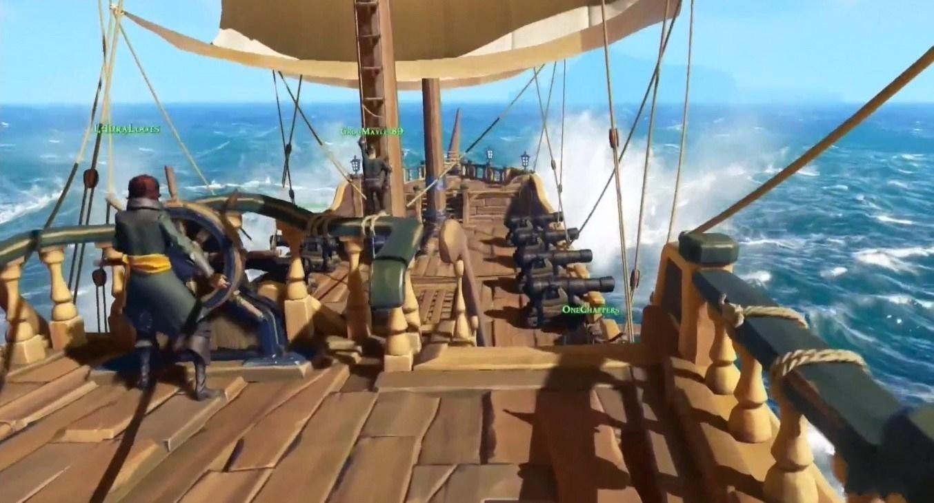 《盗贼之海》或推第三人称模式